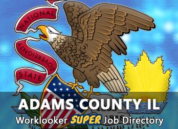 Jobs, Employment in Adams County, IL