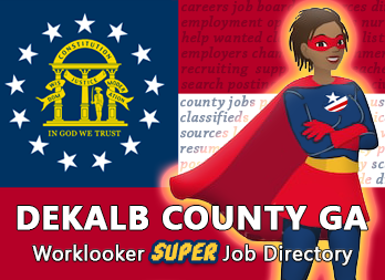 Jobs, Employment in DeKalb County, GA