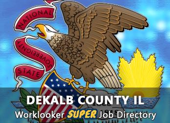 Jobs, Employment in DeKalb County, IL